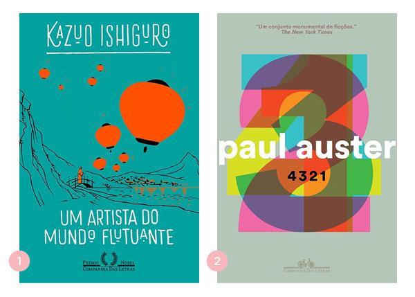 Mini-resenhas dos livros: Um Artista do Mundo Flutuante e 4 3 2 1 | Não Me Mande Flores