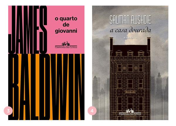 Mini-resenhas dos livros: O Quarto de Giovanni e A Casa Dourada | Não Me Mande Flores