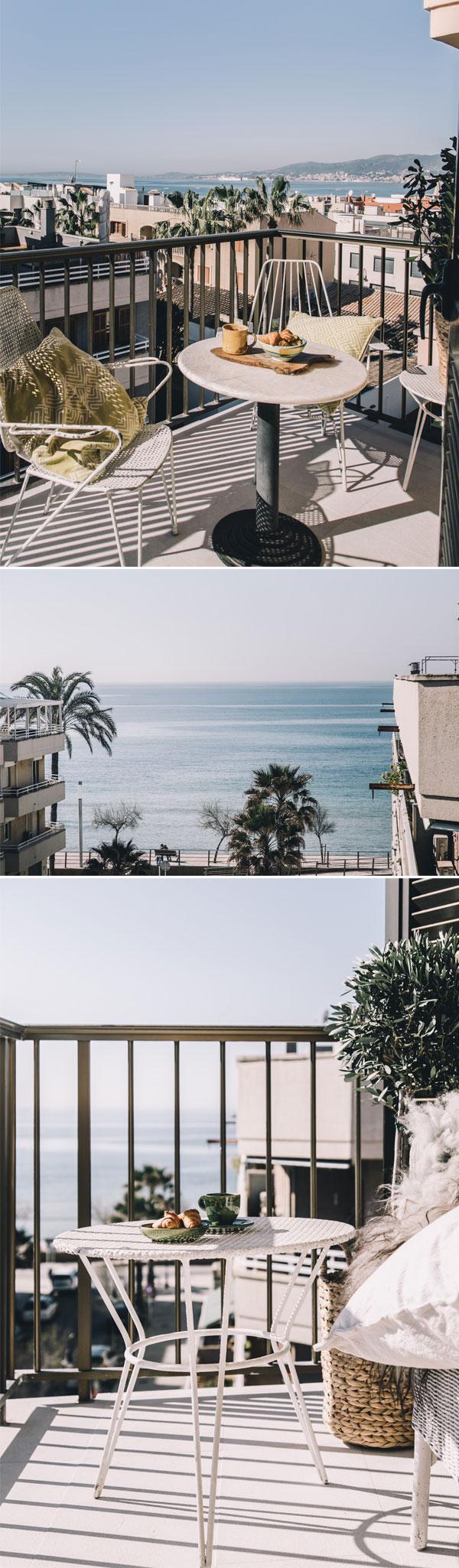 Mallorca Penthouse | clean decór | varanda