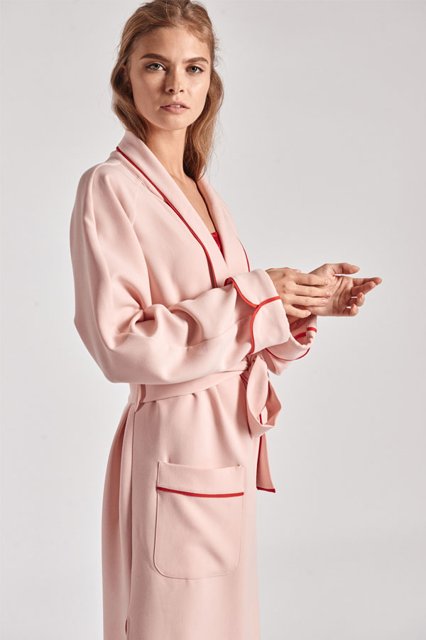 Donut Pink Robe by Sleeper | Sleepwear