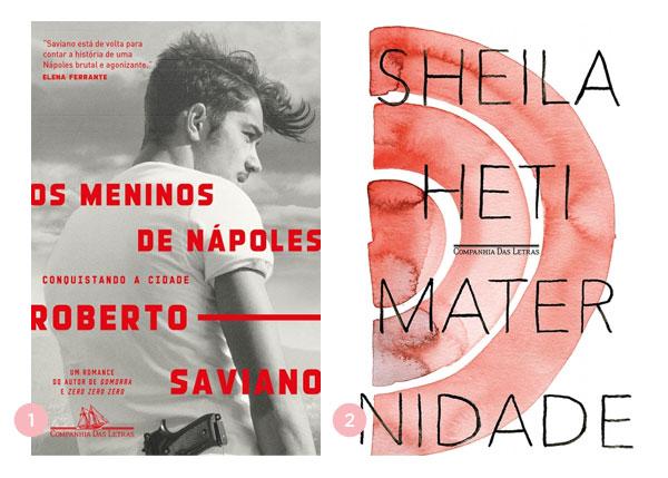 Mini-resenhas dos livros: Os Meninos de Nápoles e Maternidade | Não Me Mande Flores