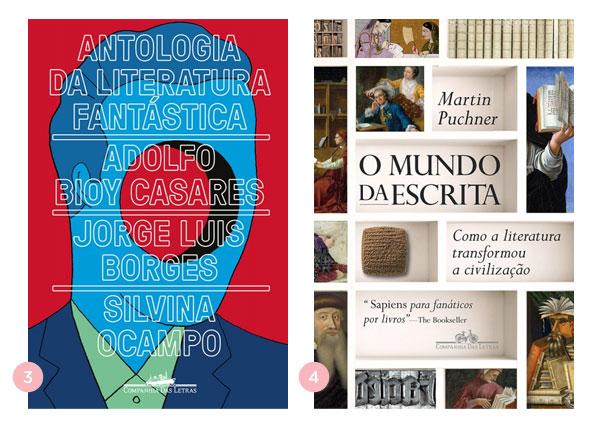 Mini-resenhas dos livros: Antologia da Literatura Fantástica e O Mundo da Escrita | Não Me Mande Flores