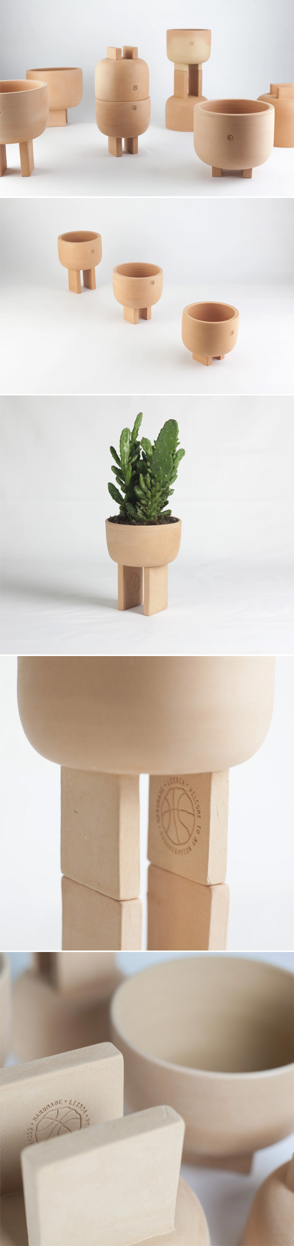 Geta Planters by Quartier Ceramics
