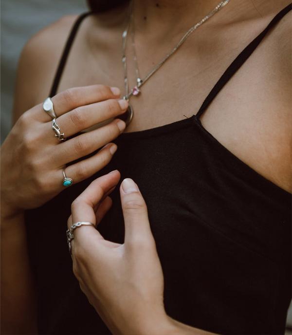 Anel de Prata | Jasmin Chew