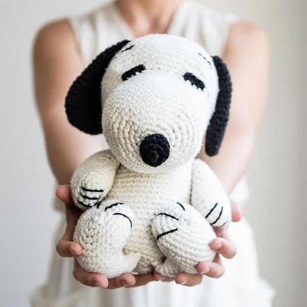 Stitch & Story x Peanuts | Kit de crochet para fazer em casa