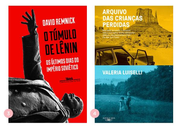 Mini-resenhas dos livros: O Túmulo de Lênin e Arquivo das Crianças Perdidas | Não Me Mande Flores
