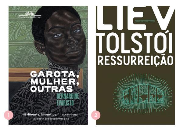 Mini-resenha dos livros: Garota, Mulher, Outras (Bernardine Evaristo) e Ressurreição (Liev Tolstói) | Não Me Mande Flores
