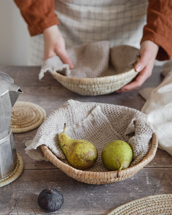 Artisan Homeware by Our Lovely Goods | Raffia Bowl