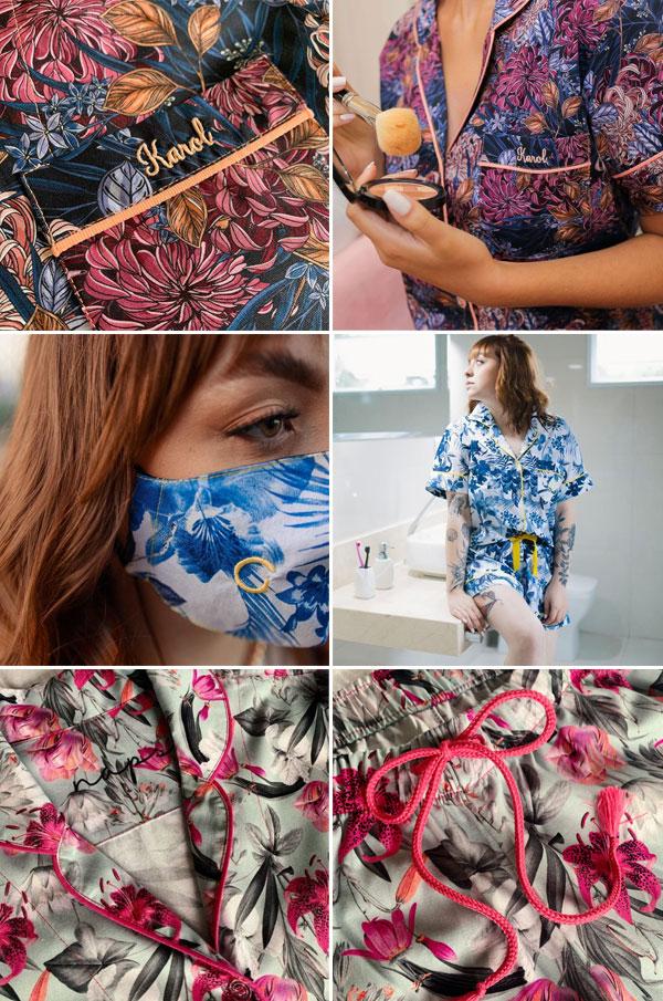 Naps - Pijamas personalizados | detalhes