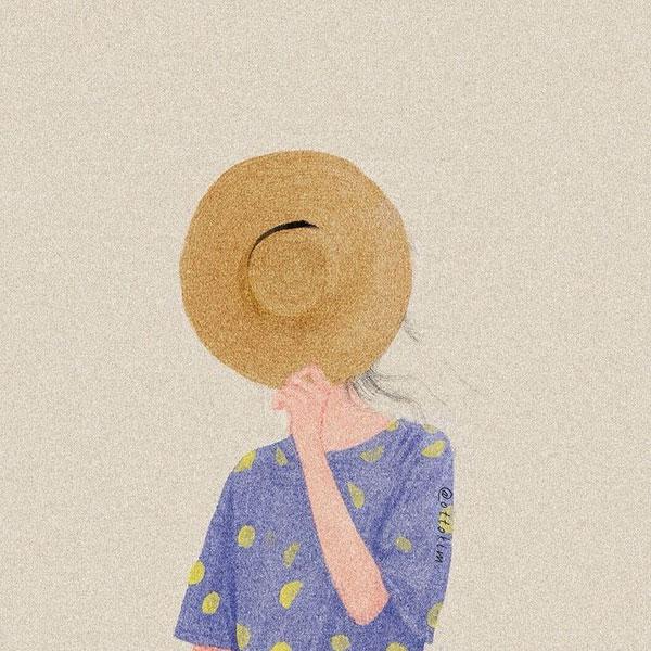 Otto Kim minimalist portrait | Não Me Mande Flores