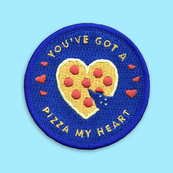 Pizza My Heart Patch | Pretty Useful Co.
