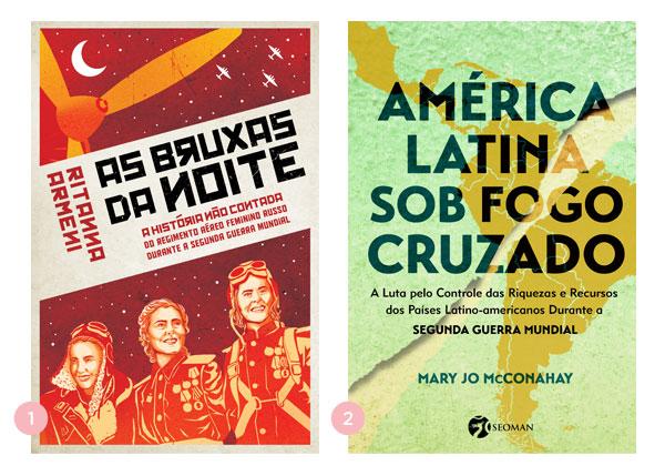 Mini-resenhas dos livros: As Bruxas da Noite (Ritanna Armeni) e América Latina Sob Fogo Cruzado (Mary Jo McConahay) | Não Me Mande Flores
